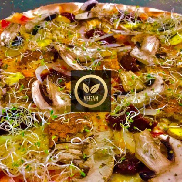 TOFU VEGAN - Hey Mamma - Restaurante Pizzeria