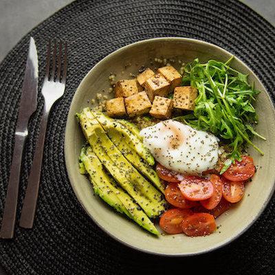 Poke bowl Tofu
